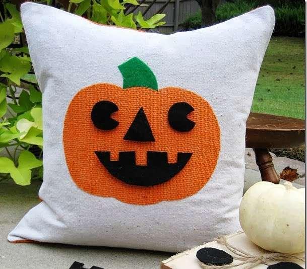 Cuscino decorato per Halloween