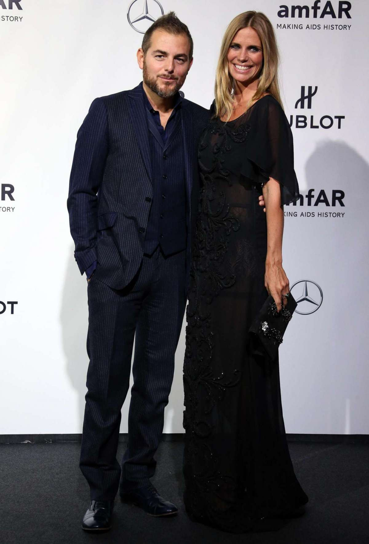 Filippa e Daniele sul red carpet dell'amfar
