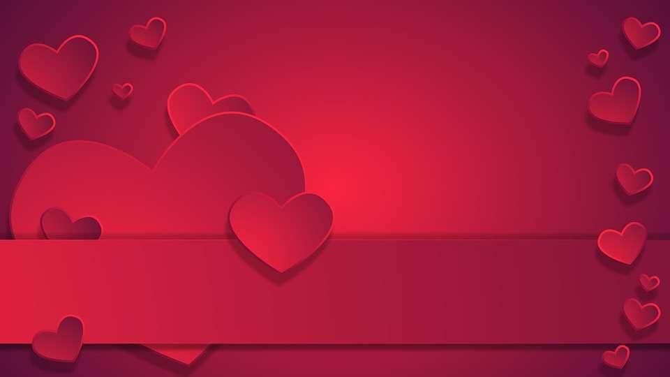 Biglietto d'amore per San Valentino