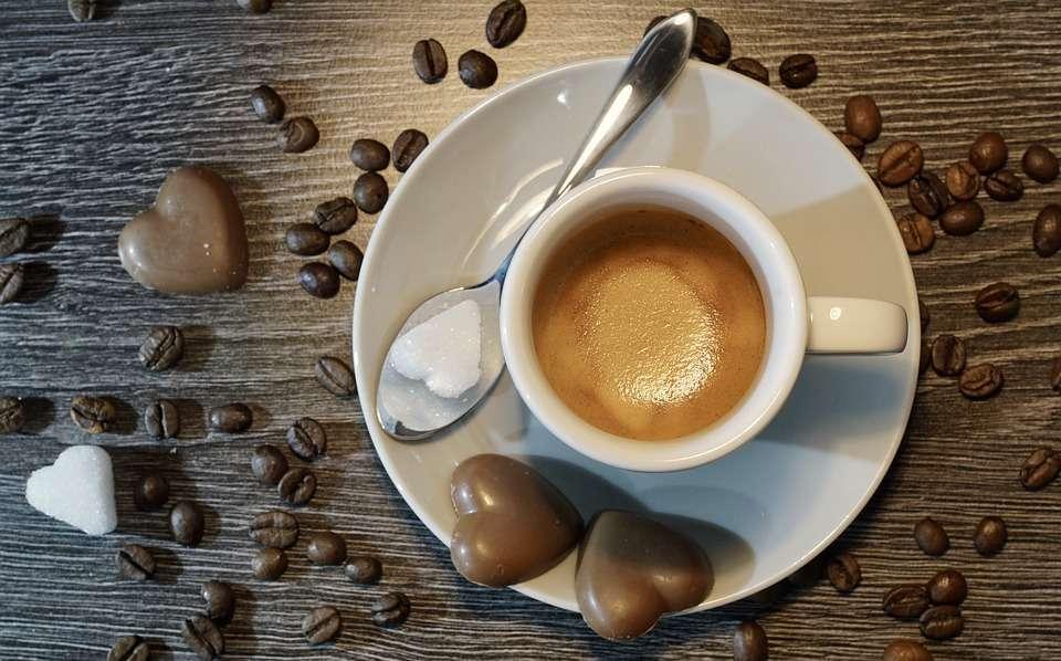Caffe del giorno di San Valentino