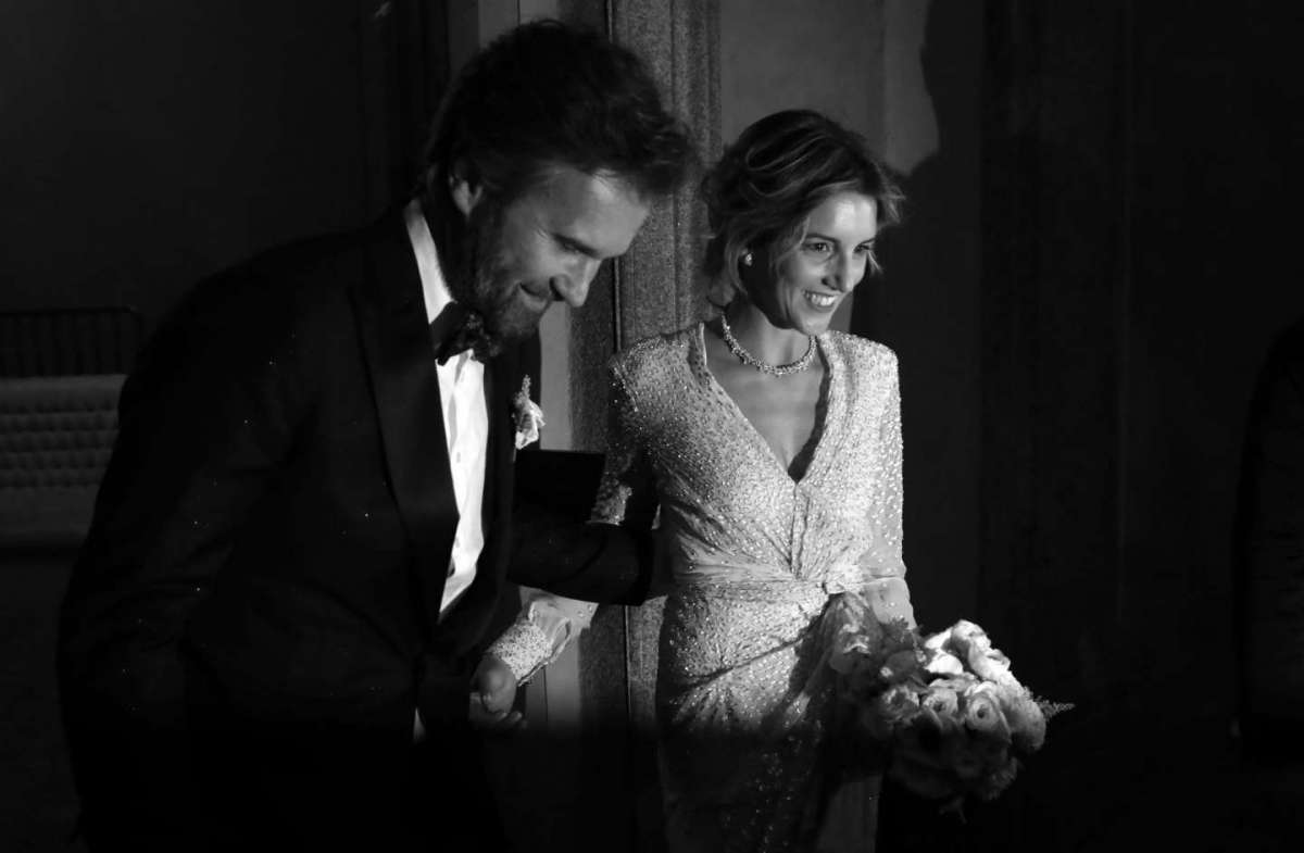 Le foto del matrimonio di Carlo Cracco e Rosa Fanti