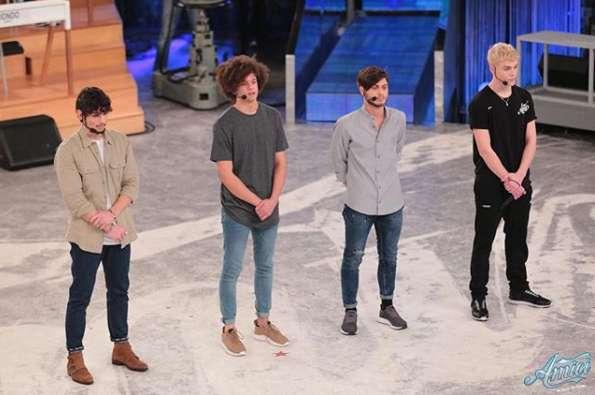 Vittorio, Nicolas, Filippo e Biondo espulsi da Amici 17