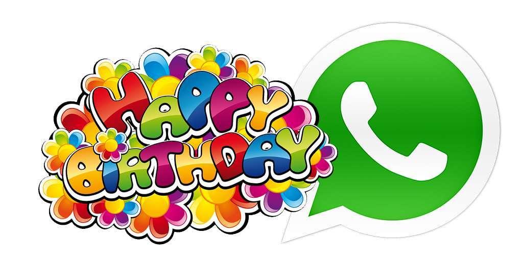 Tanti auguri su WhatsApp