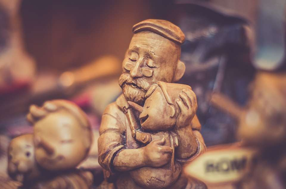 Immagini festa del papà: Geppetto e Pinocchio