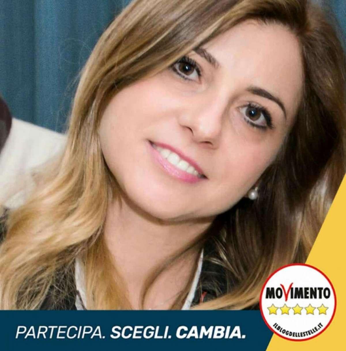 Giovanna Melodia sul manifesto elettorale