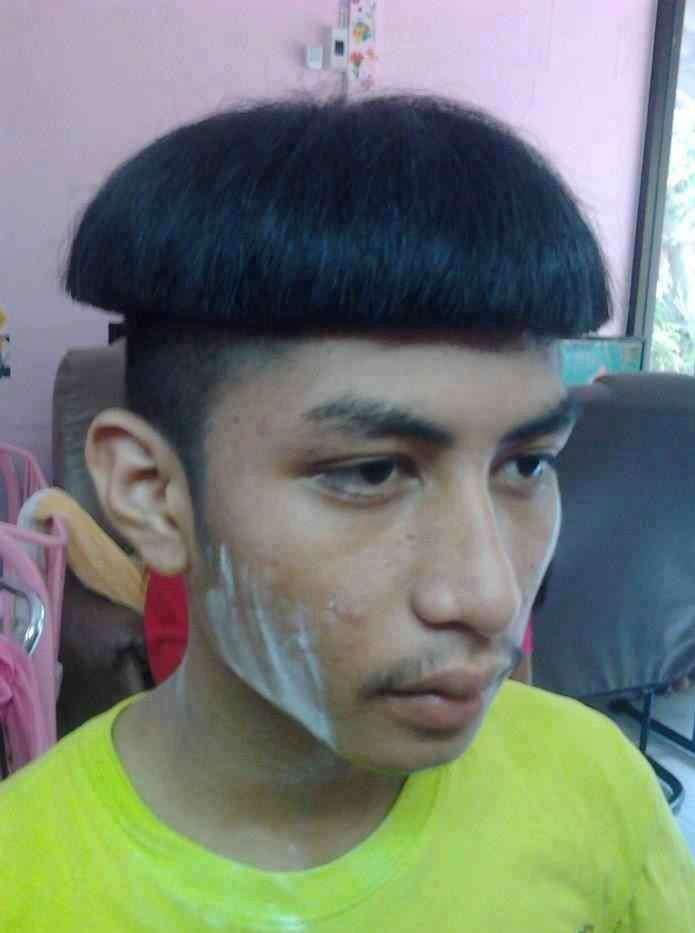 Tagli di capelli brutti: il fungo