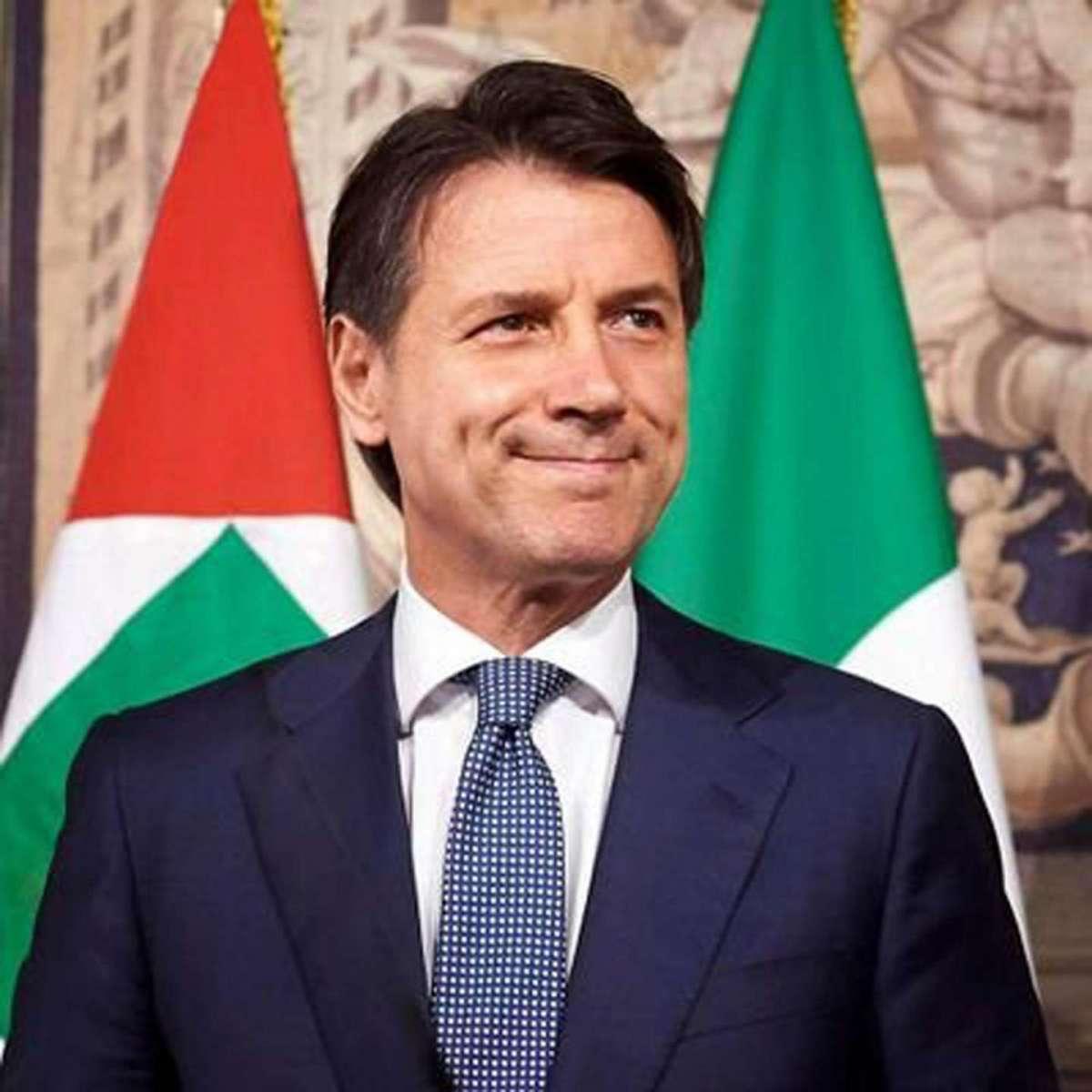 Giuseppe Conte, foto twitter