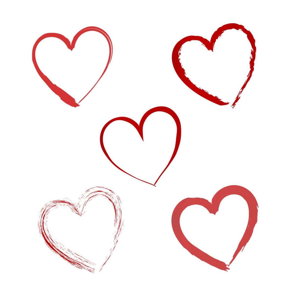 Immagini di amore: cuori romantici