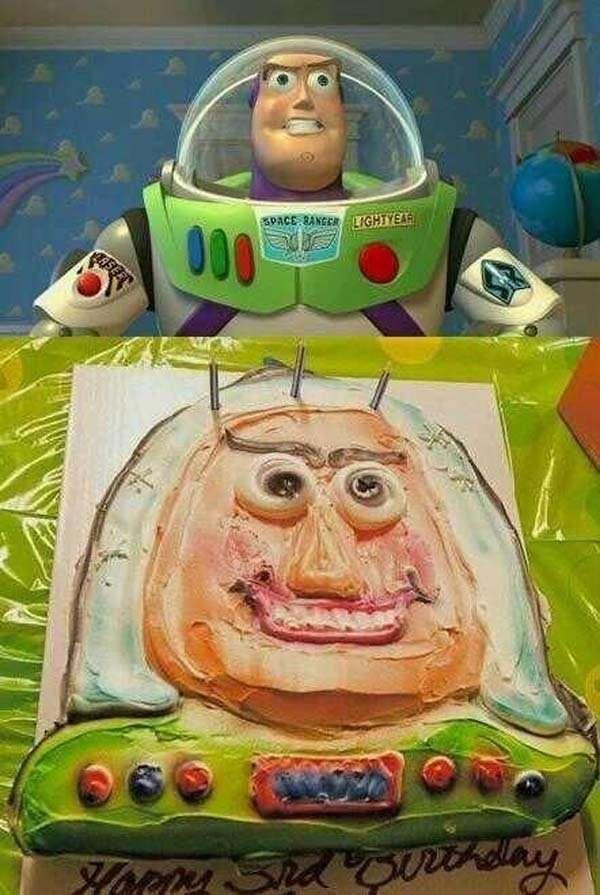 Torta Buzz Lightyear