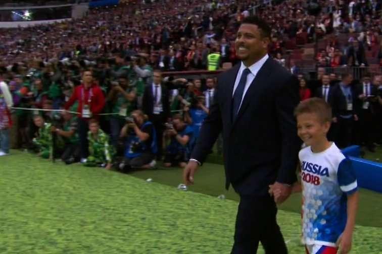 Cerimonia apertura Mondiali 2018, Ronaldo