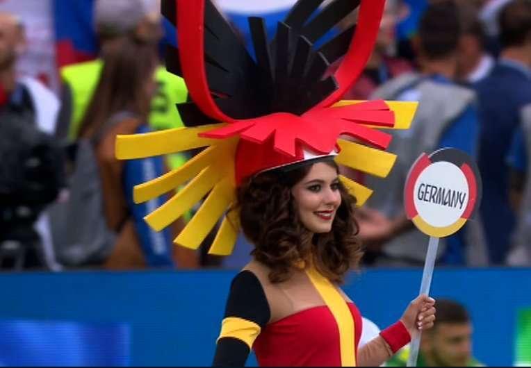 Cerimonia di apertura Mondiali 2018, madrina Germania