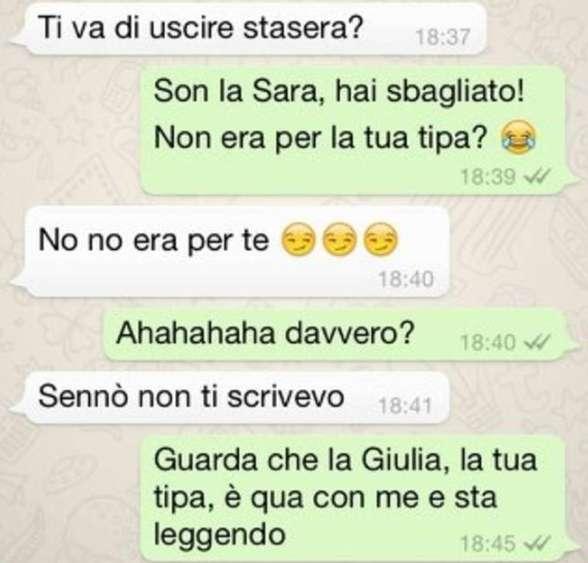 Messaggi Whatsapp, conversazioni buffe