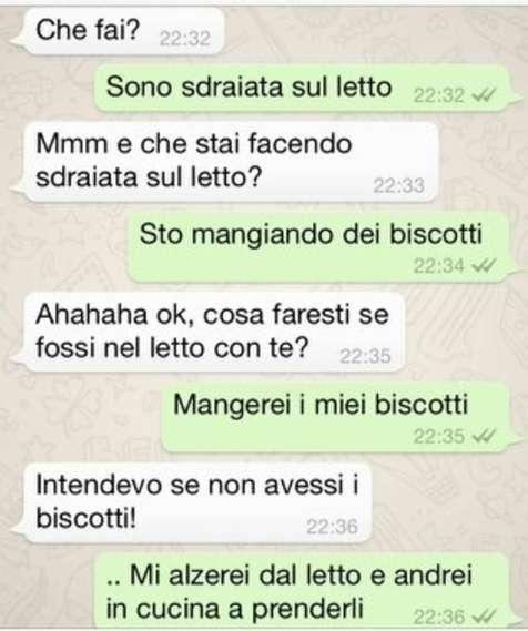 Messaggi Whatsapp da ridere
