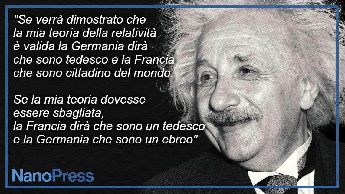 Discorsi di Albert Einstein