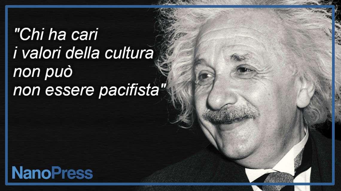 Il pacifismo di Albert Einstein