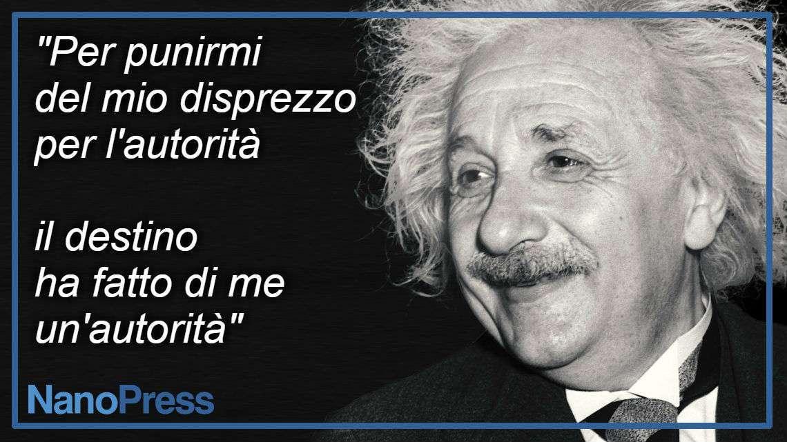 Pensieri di Albert Einstein