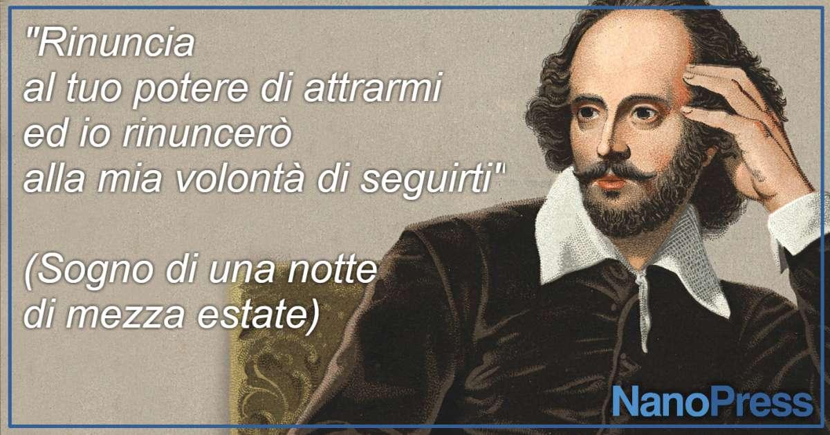 Shakespeare, frasi famose da Sogno d'una notte di mezza estate