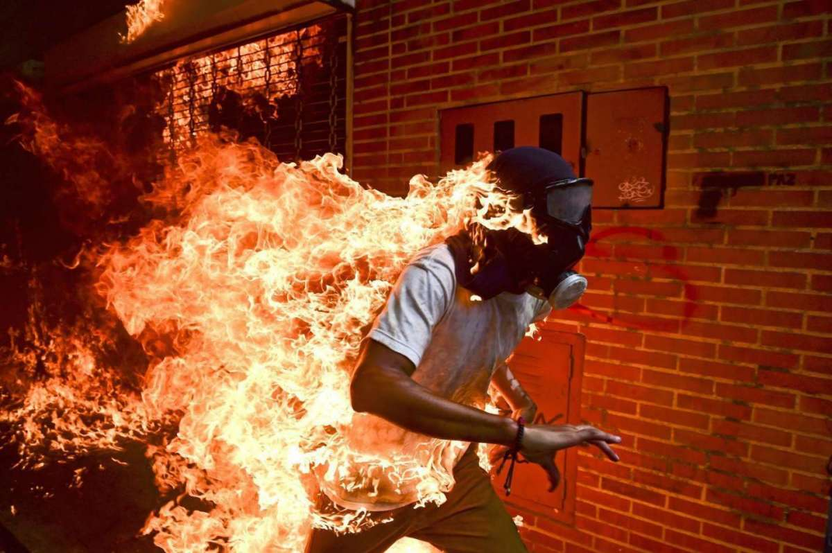 World Press Photo 2018: Venezuela Crisis